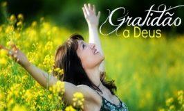 Gratidão por Ti meu Deus