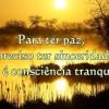 Consciência tranquila