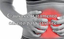 Causas e tratamento caseiro para gastrite