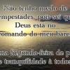Deus está no comando