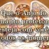 O Anjo do manto protetor