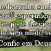 Mantenha sua confiança em Deus