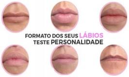 O que o formato dos lábios dizem sobre sua personalidade