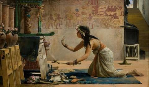 Ritual para amarração amorosa Egípcia