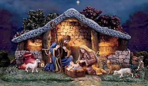 A tradição do presépio de Natal