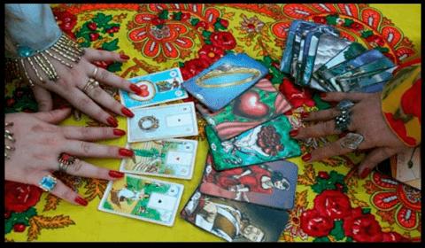 As cartas do tarot cigano