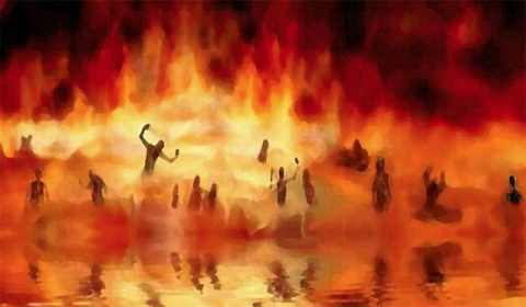 Sonhar com inferno