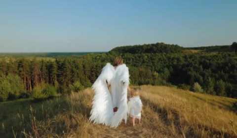 anjos e árvores