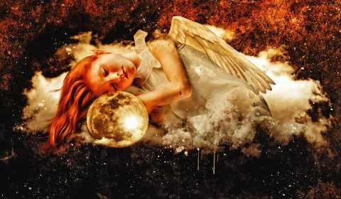Anjos podem trazer positividade
